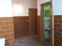 Blick zum WC-Bereich