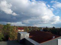Blick aus dem DG-Fenster