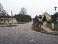 Blick zum Dorfplatz