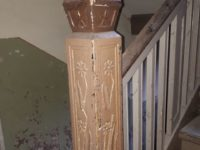 Original Treppenpfeiler