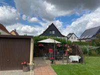 Terrasse im Garten