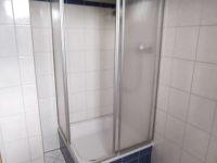 Dusche im Gäste-WC