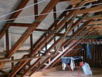 Dachboden / Wäscheboden